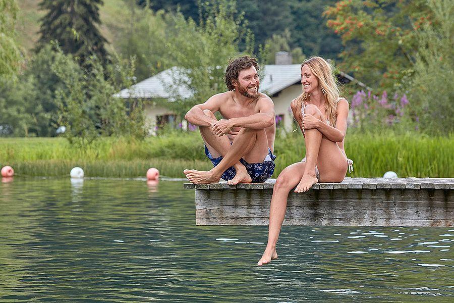 Freizeitanlagen rund um den See